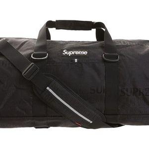 Supreme Duffel Bag ss19 Black